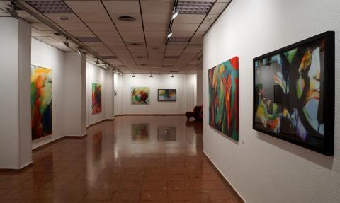 Exposición colectiva de obras seleccionadas en el Premio de Pintura Ateneo de Sevilla 2017