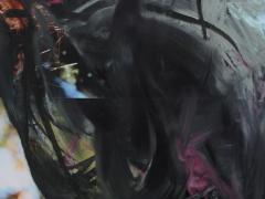 """""""Sobre el paisaje #58"""", ceras sobre fotografía, 20 x 15 cm, 2009"""