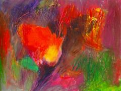 """""""#7"""", serie """"Memorias I"""", ceras sobre papel, 17 x 21,5 cm, 2005"""
