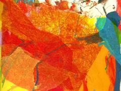"""#14"", serie ""Explorando mi mente"", collage sobre papel, 29 x 20 cm, 2016"