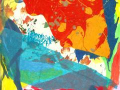 """#16"", serie ""Explorando mi mente"", collage sobre papel, 29 x 20 cm, 2016"