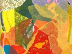 """#15"", serie ""Explorando mi mente"", collage sobre papel, 29 x 20 cm, 2016"
