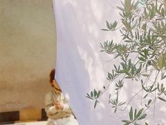"""""""Sobre el paisaje #20"""", collage fotográfico, 10,5 x 10 cm, 2009"""
