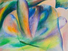 """""""#27"""", serie """"Sensualidades"""", lápiz de color sobre papel, 24 x 34 cm, 2011"""